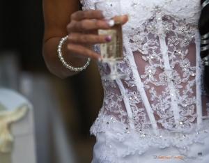 bustier de la mariée